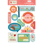 Carta Bella Paper - Alphabet Junction Collection - Layered Chipboard Stickers