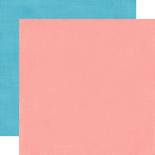 Carta Bella Paper - Alphabet Junction Collection - 12 x 12 Double Sided Paper - Strawberry Ice Pink