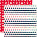 Carta Bella Paper - Ahoy There Collection - 12 x 12 Double Sided Paper - Sailboats