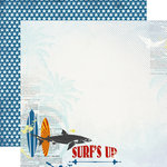 Carta Bella Paper - Beach Boardwalk Collection - 12 x 12 Double Sided Paper - Surf's Up