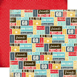 Carta Bella Paper - Boy Oh Boy Collection - 12 x 12 Double Sided Paper - Sweet Boy