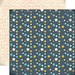 Carta Bella Paper - Boy Oh Boy Collection - 12 x 12 Double Sided Paper - All Star