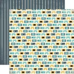 Carta Bella Paper - Boy Oh Boy Collection - 12 x 12 Double Sided Paper - Game On
