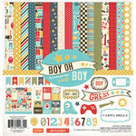 Carta Bella Paper - Boy Oh Boy Collection - 12 x 12 Collection Kit