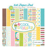 Carta Bella Paper - Cool Summer Collection - 6 x 6 Paper Pad