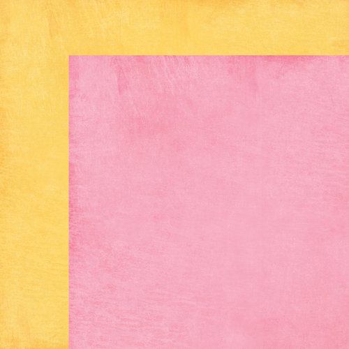 Carta Bella Paper - Cool Summer Collection - 12 x 12 Double Sided Paper - Picnic Pink