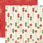Carta Bella Paper - Christmas Time Collection - 12 x 12 Double Sided Paper - Trim the Tree