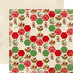Carta Bella Paper - Christmas Time Collection - 12 x 12 Double Sided Paper - Home for the Holidays