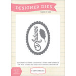 Carta Bella Paper - A Perfect Autumn Collection - Designer Dies - Autumn Frame