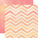 Carta Bella Paper - Hello Again Collection - 12 x 12 Double Sided Paper - Hello Chevron