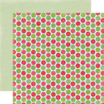 Carta Bella Paper - Merry and Bright Collection - Christmas - 12 x 12 Double Sided Paper - Garland