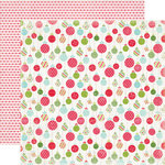 Carta Bella Paper - Merry and Bright Collection - Christmas - 12 x 12 Double Sided Paper - Merry Ornaments