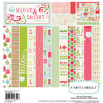 Carta Bella Paper - Merry and Bright Collection - Christmas - 12 x 12 Collection Kit