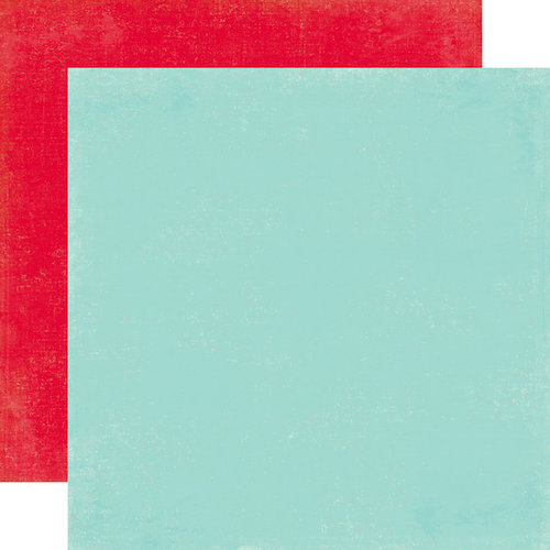 Carta Bella Paper - Merry and Bright Collection - Christmas - 12 x 12 Double Sided Paper - Winter Blue