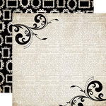 Carta Bella Paper - Moments and Memories Collection - 12 x 12 Double Sided Paper - Flourish