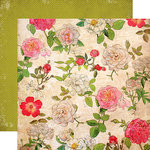 Carta Bella Paper - Moments and Memories Collection - 12 x 12 Double Sided Paper - Large Floral