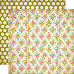 Carta Bella Paper - Moments and Memories Collection - 12 x 12 Double Sided Paper - Small Floral