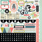 Carta Bella Paper - Moments and Memories Collection - 12 x 12 Cardstock Stickers