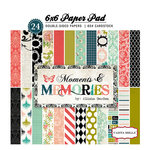 Carta Bella Paper - Moments and Memories Collection - 6 x 6 Paper Pad