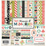 Carta Bella Paper - Moments and Memories Collection - 12 x 12 Collection Kit