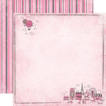 Carta Bella Paper - Paris Girl Collection - 12 x 12 Double Sided Paper - Oui Oui