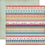 Carta Bella Paper - Rough and Tumble Collection - 12 x 12 Double Sided Paper - Border Strips