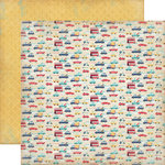 Carta Bella Paper - Rough and Tumble Collection - 12 x 12 Double Sided Paper - Vroom Vroom