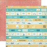 Carta Bella Paper - Rough and Tumble Collection - 12 x 12 Double Sided Paper - Explore Together