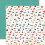 Carta Bella Paper - Rough and Tumble Collection - 12 x 12 Double Sided Paper - Floating Boats