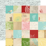 Carta Bella Paper - So Noted Collection - 12 x 12 Double Sided Paper - Dear Jane