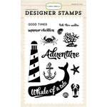 Carta Bella Paper - Ahoy There Collection - Clear Acrylic Stamps - Whale Of A Tail