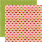 Carta Bella Paper - Summer Lovin Collection - 12 x 12 Double Sided Paper - Watermelon