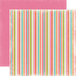 Carta Bella Paper - Summer Lovin Collection - 12 x 12 Double Sided Paper - Stripes