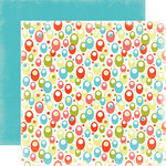 Carta Bella Paper - Summer Lovin Collection - 12 x 12 Double Sided Paper - Sunshine