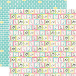 Carta Bella Paper - True Friends Collection - 12 x 12 Double Sided Paper - Playtime