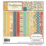Carta Bella Paper - Traditions Collection - 12 x 12 Collection Kit