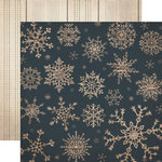 Carta Bella Paper - Warm and Cozy Collection - Christmas - 12 x 12 Double Sided Paper - Blizzard