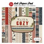 Carta Bella Paper - Warm and Cozy Collection - Christmas - 6 x 6 Paper Pad