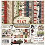 Carta Bella Paper - Warm and Cozy Collection - Christmas - 12 x 12 Collection Kit