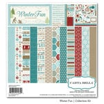 Carta Bella Paper - Winter Fun Collection - 12 x 12 Collection Kit