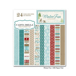 Carta Bella Paper - Winter Fun Collection - 6 x 6 Paper Pad