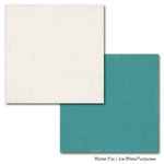 Carta Bella Paper - Winter Fun Collection - 12 x 12 Double Sided Paper - Ice White