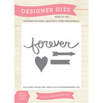 Carta Bella Paper - Words of Love Collection - Designer Dies - Forever