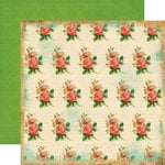 Carta Bella Paper - Yesterday Collection - 12 x 12 Double Sided Paper - Roses