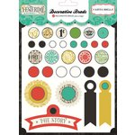 Carta Bella Paper - Yesterday Collection - Decorative Brads