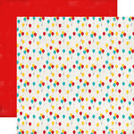 Carta Bella - Circus Party Collection - 12 x 12 Double Sided Paper - Party Balloons