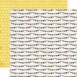 Carta Bella - Circus Party Collection - 12 x 12 Double Sided Paper - Banners