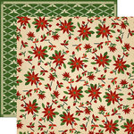 Carta Bella - Christmas Wonderland Collection - 12 x 12 Double Sided Paper - Christmas Quilt