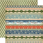 Carta Bella - Christmas Wonderland Collection - 12 x 12 Double Sided Paper - Christmas Now and Then