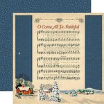Carta Bella - Christmas Wonderland Collection - 12 x 12 Double Sided Paper - Joyful and Triumphant
